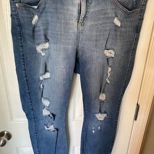 Torrid Bombshell Skinny Jeans - Medium Wash